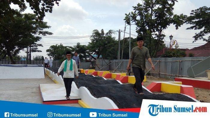 PT Gojek Bantu Revitaslisasi Taman Ampera Skate Park Palembang dan Halte Trans Musi