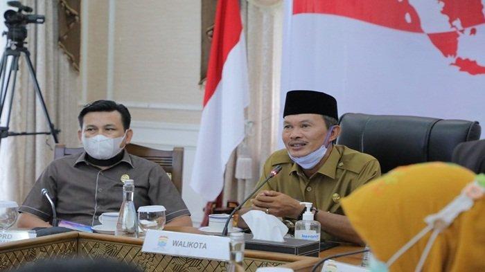 Forkompinda Palembang Lakukan Rakor Dengan Presiden Soal Penanganan Covid-19