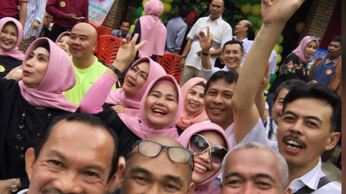 Manfaatkan Momen Lebaran, Harno Ikuti Reuni SMA Terus Lanjut Pulang Kampung