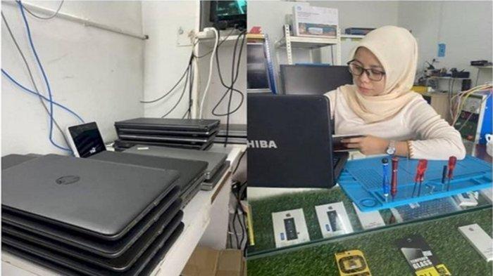 'Ya Tuhan Saya Mau Nangis' Kisah Haru Seorang Wanita Rela Beri Laptop Gratis ke Siswa Gegara Hal Ini