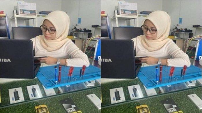 Kisah wanita beri laptop gratis ke siswa