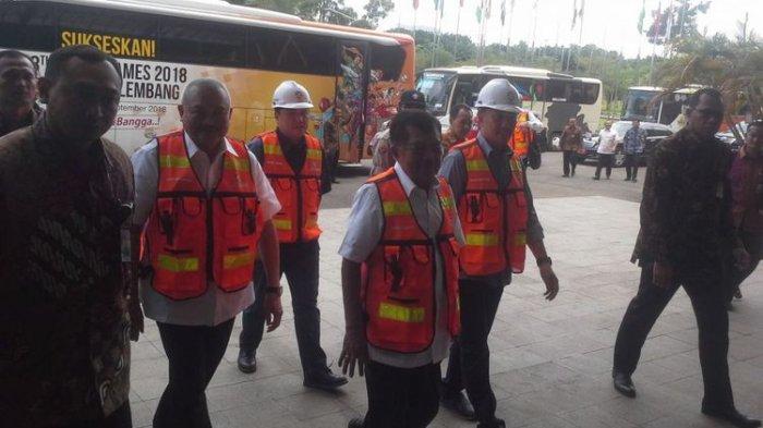 Wapres Jusuf Kalla: Persiapan Asian Games di Jakabaring Palembang Berjalan Sesuai Schadule