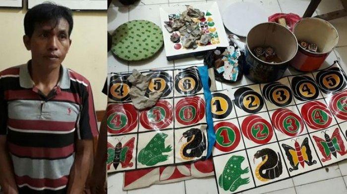 Para Pejudi Dadu Kuncang di Kalangan Rompok Jando Kocar Kacir Digerebek Polisi