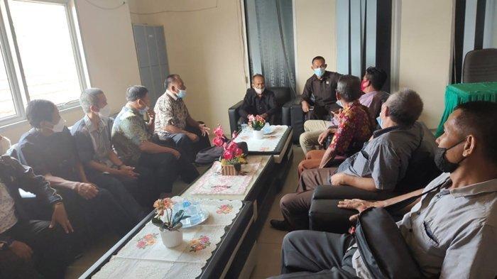 Tol Ogan Ilir-Muara Enim, 7 Bulan Pembangunan Ganti Rugi belum Dibayar Warga Datangi DPRD Prabumulih