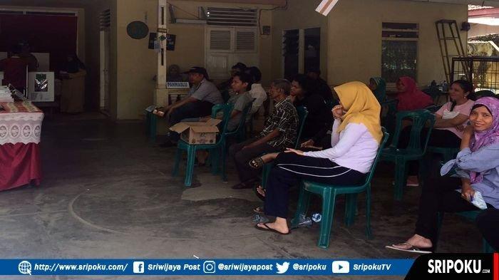 Surat Suara Pilpres 2019 di Palembang Kurang, Banyak Warga Kecewa karena tidak Bisa Mencoblos
