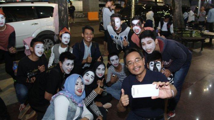 Pedestrian Sudirman Palembang Jadi Wisata Primadona