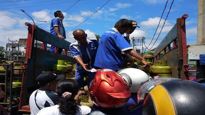 Gas Elpiji 3 Kg di Muratara Langka, Harganya Mencapai Rp 40 Ribu Per Tabung