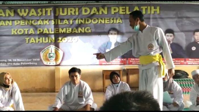 Jelang IPSI Cup Kota Palembang 30 Wasit Juri Pencak Silat Palembang Ikuti Refreshing Level Provinsi