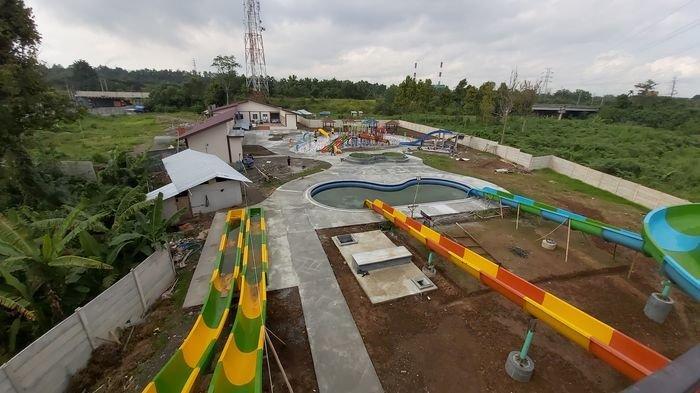 Pembangunan Proyek Waterpark PTBA di Tanjungenim Sudah Mencapai 94,36 Persen