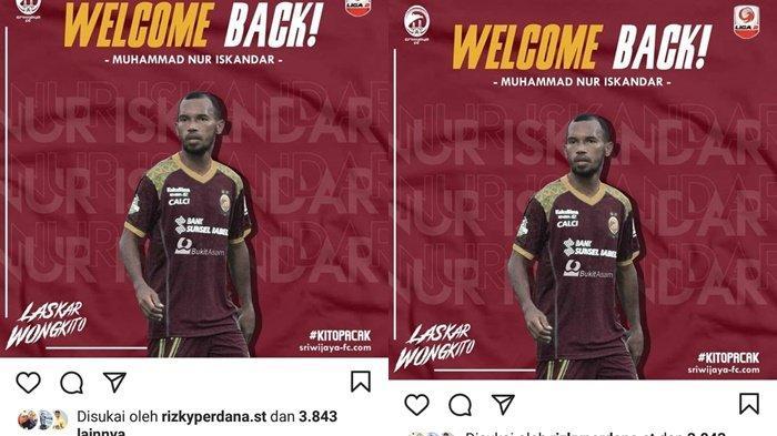 RESMI Sriwijaya FC Gaet Eks Persija Jakarta, Berikut Kariernya Pernah Perkuat Timnas Indonesia