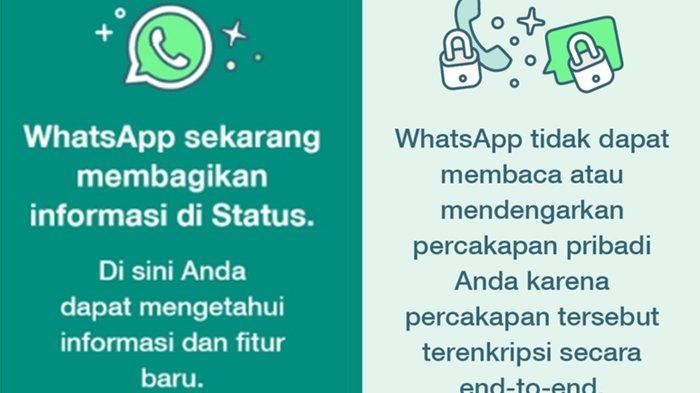 Status Pihak WhatsApp Mendadak Muncul, Ini Penjelasan dan Kenali Fitur-fitur Terbarunya!
