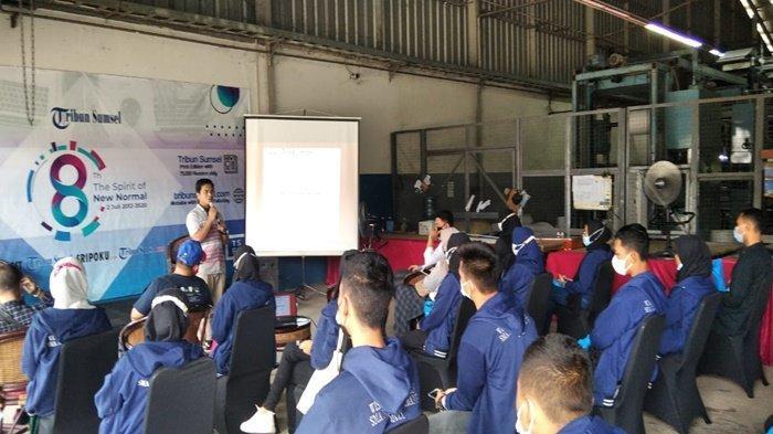 Baca Berita Jangan Hanya Baca Judul, Wisata Pendidikan SMAN 12 Palembang di Graha Tribun