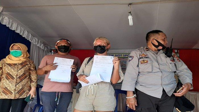 'Kami Mau Nikah Bukan Mudik', Antasasia WNA Rusia Bersama Pacar Dicegat di Palembang