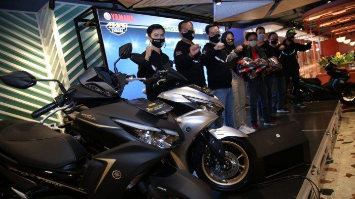 All New Yamaha Aerox 155 Connected Hadir di Palembang, Dibanderol 26 Jutaan, Intip Sepsifikasinya