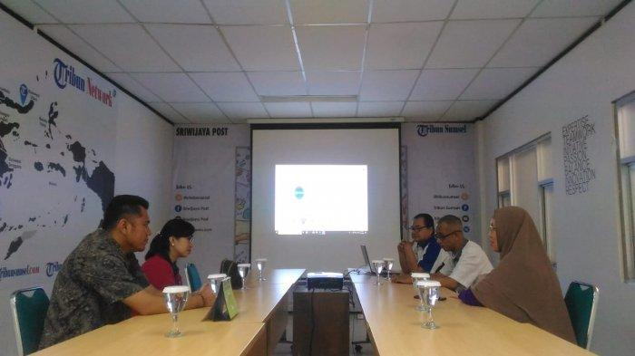 Yamaha Sumsel Silaturahmi ke Kantor Sripoku.com-Tribun Sumsel, Siapkan Launching 3 Produk Terbaru