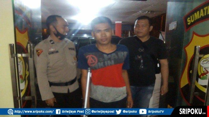 Yanto (25), pelaku pembunuhan seorang janda di Rusunawa Kasnariansyah Palembang