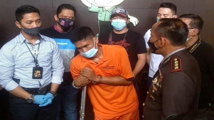 Sambil Tahan Sakit Akibat Patah Kaki, Yanto Tunggu Jemputan Travel Mau Kabur Usai Bunuh Janda