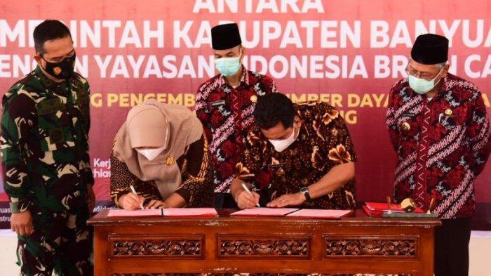 Tingkatkan SDM Bahasa Asing, Banyuasin Sepakati MOU dengan Yayasan Indonesia Brain Camp