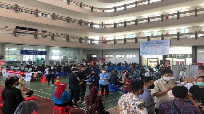 15 Ribu Lebih Warga di Palembang Terlayani Vaksinasi Covid-19 di Yayasan Kumbang, Semuanya Gratis