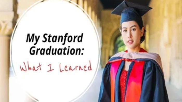 Cerita Maudy Ayunda Kuliah di Stanford University : Kalau Kita Ingin Sesuatu Kita Harus Mengejarnya