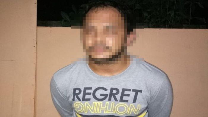 Tim Hunter Sat Sabahara Polresta Palembang Amankan Pria Membawa Celurit di Lorong Kemas
