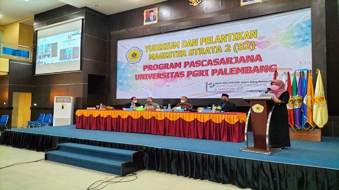 Perkuliahan Daring U-PGRI PalembangTerkoneksi Spada Kemendikbud, Cetak Lulusan Melek Digital