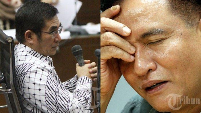 Hadapi Mantan Ketua MK, Yusril tak Gentar : Pak SBY Berkali-kali Tawari Saya Hakim MK, Enggak Mau