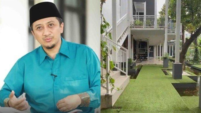 INTIP Potret Rumah Mewah Ustaz Yusuf Mansur, Tempat Fitness Pribadi, Ada Kebun Sayuran di Atap Rumah