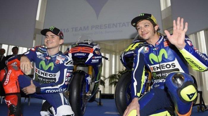 Ayah Valentino Rossi, Anaknya Kemungkinan 1 Tim Lagi dengan Jorge Lorenzo pada MotoGP 2021?