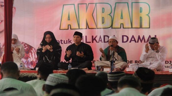 Kampanye Akbar Diisi Istighozah dan Zikir Akbar di 18 Kecamatan se Kota Palembang