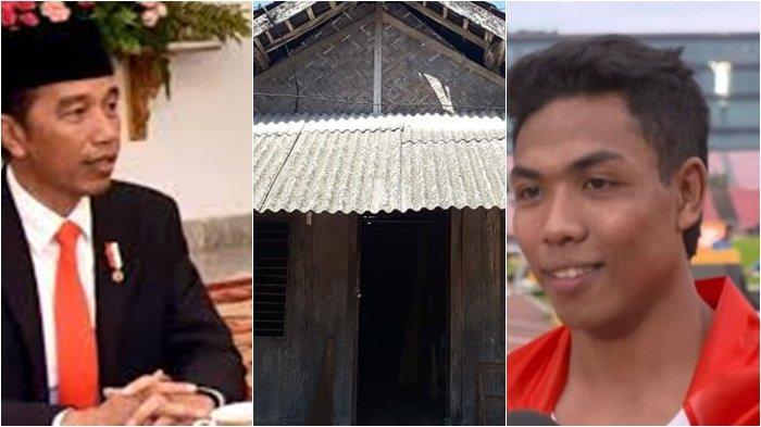 Jokowi Perintahkan Menteri PU Untuk Renovasi Rumah Zohri, Pemenang Medali Emas Pertama Indonesia