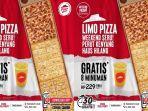 Promo Pizza Hut Terakhir Hari Ini, Beli Limo Pizza Gratis Delapan Minuman Langsung