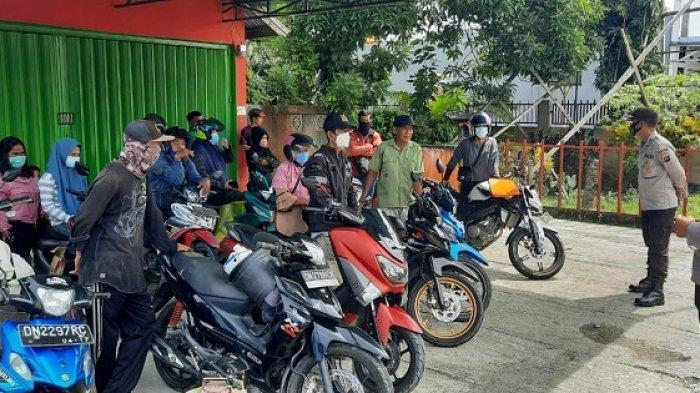 16 Motor Terjaring Razia di Batui Banggai, Kendaraan Boleh Diambil Kalau Pemilik Tunjukan STNK