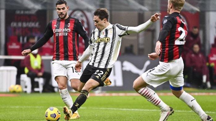 Hasil Liga Italia - Juventus Hajar AC Milan, Rossoneri Alami Kekalahan Pertama di Serie A Musim ini