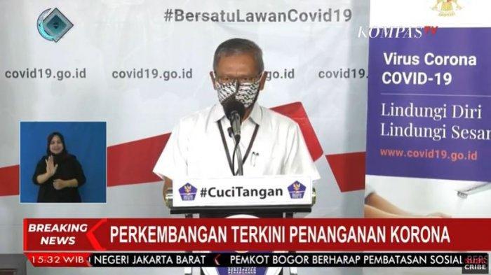 Update Corona Indonesia: Tambah 337 Kasus Baru, Total Ada 3.293. Kasus per Kamis (9/4/2020)