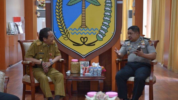 Pimpinan Satgas Saber Pungli Sulawesi Tengah Bertemu Gubernur Longki, Sampaikan Sejumlah Kendala