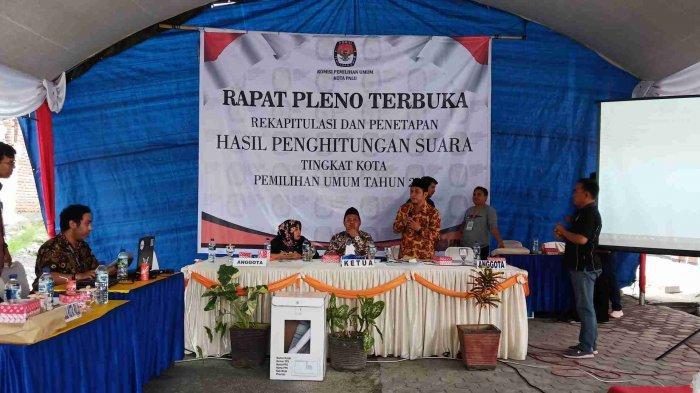 3 PPK Belum Setor Hasil Penetapan Tingkat Kecamatan, KPU Kota Palu Kembali Tunda Rekapitulasi