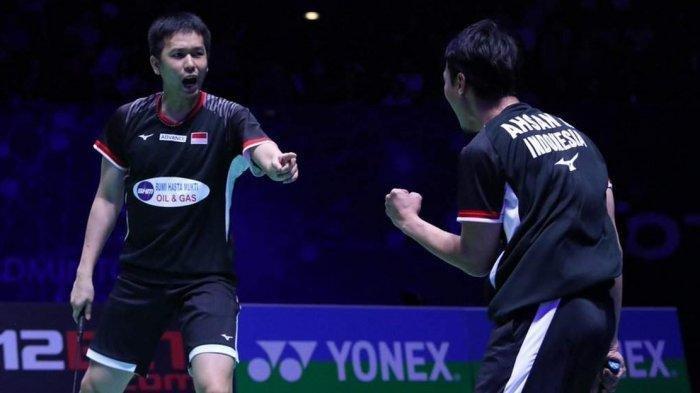 Jadwal Tanding Wakil Indonesia di Jepang Open 2019 Besok: Ahsan/Hendra vs Wahyu/Ade Pukul 15.30 WIB