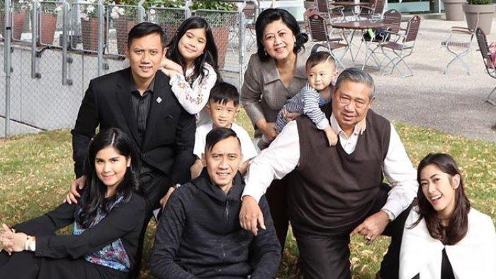 SBY Ulang Tahun, AHY Unggah Kenangan Bersama Ibu: Terima Kasih atas Never Ending Supports dari Pepo