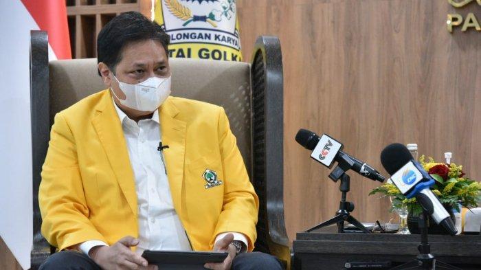 Airlangga Hartarto Pastikan Partai Golkar Sukseskan Strategi Pemerintah Tangani Covid-19