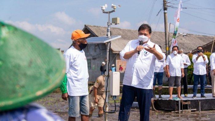 Menko Airlangga Dukung Smart Farming Petani Milienal untuk Peningkatan Produktivitas