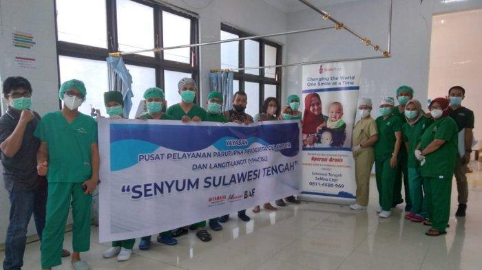 Yamaha Akai Jaya Support Smile Train untuk Operasi Bibir Sumbing di Palu