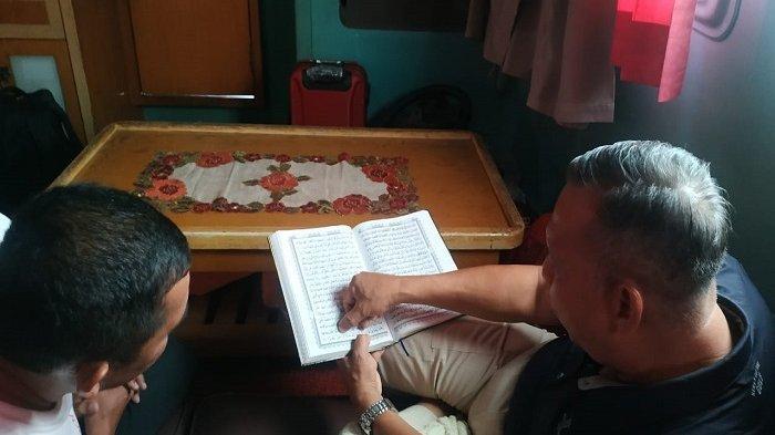 Haji Usman bercerita dirinya pernah mengajar mengaji di Masjid Raya Makassar.