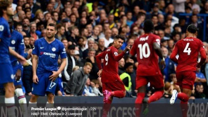 Hasil Lengkap Liga Inggris: Liverpool Sempurna, Separuh The Big Six Kalah