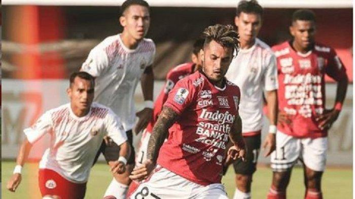 Update Liga 1 2020: Barito Putera vs Bali United di Babak Pertama, Lilipaly Bawa Tim Tamu Unggul 0-1