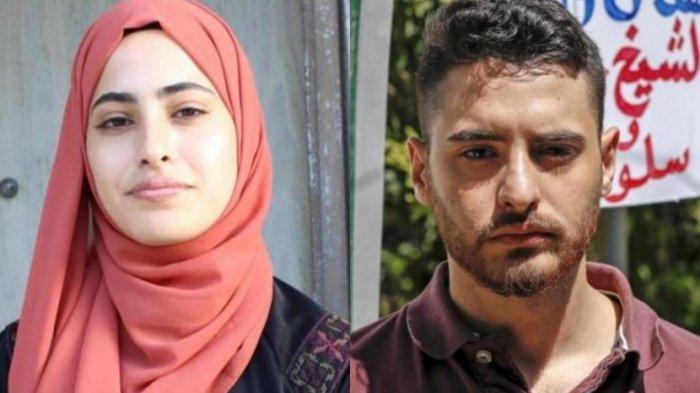 Aktivis Palestina Muna el-Kurd (23 tahun) dan saudara kembarnya Muhammad el-Kurb. Keduanya memiliki lebih dari satu juta pengikut di Instagram.
