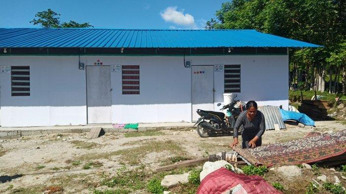 Warga Balaroa yang Tinggal di Huntara Jl Asam 3 Palu Tolak Penertiban yang Dilakukan Pemerintah