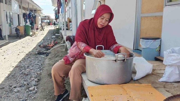 Masalah Air Bersih dan Lapangan Kerja Jadi Keluhan Pengungsi di Huntara Petobo