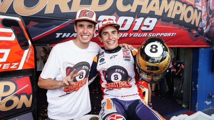 Jelang MotoGP Aragon 2020: Alex Marquez Tak Sabar Menanti Kembalinya Marc Marquez ke Lintasan