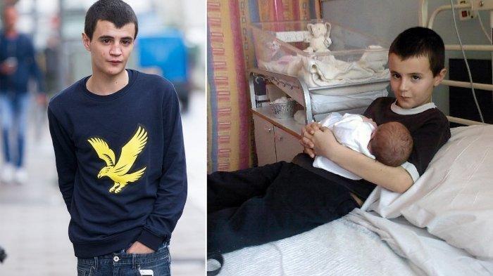 Siapa Itu AlfiePatten? Dinobatkan Ayah Termuda Umur 13 Tahun, Kini Hidup Keluar Masuk Penjara